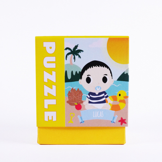 Personalised Jigsaw Puzzle - Beach Baby