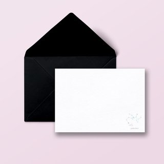 Personalised Constellation Note Cards