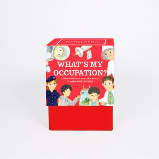 Personalised Bilingual Occupations Flash Cards