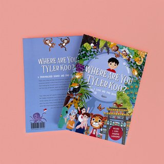 Personalised Look and Find Book
